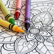 Need to De-Stress? Enjoy This Free Coloring Page